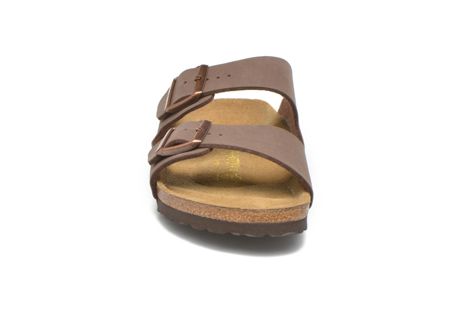 Sandals Birkenstock Arizona Flor M Brown model view