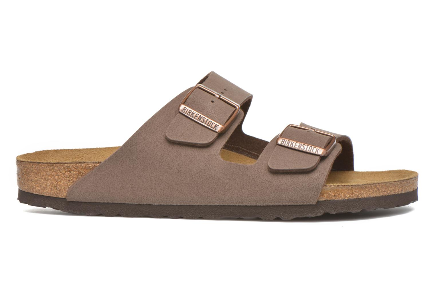 Sandals Birkenstock Arizona Flor M Brown back view