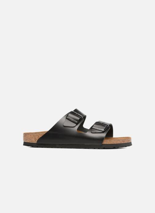 Sandalen Birkenstock Arizona Cuir M Zwart achterkant