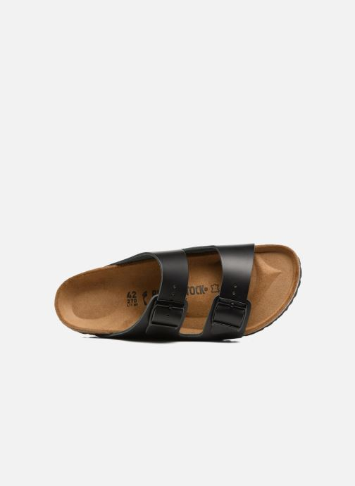 Sandals Birkenstock Arizona Cuir M Black view from the left