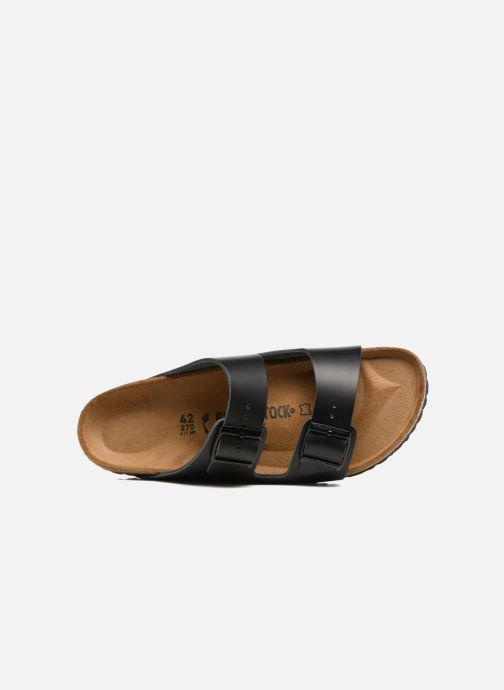 Sandali e scarpe aperte Birkenstock Arizona Cuir M Nero immagine sinistra