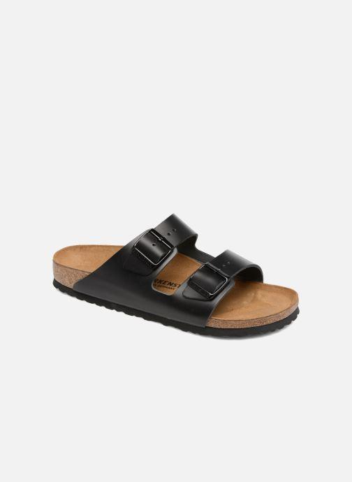 Sandales et nu-pieds Birkenstock Arizona Cuir M Noir vue détail/paire