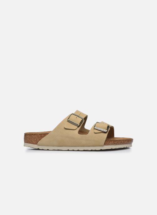 Sandales et nu-pieds Birkenstock Arizona Cuir M Beige vue derrière