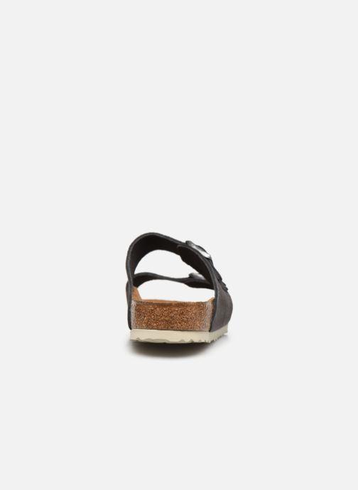 Sandali e scarpe aperte Birkenstock Arizona Cuir M Grigio immagine destra