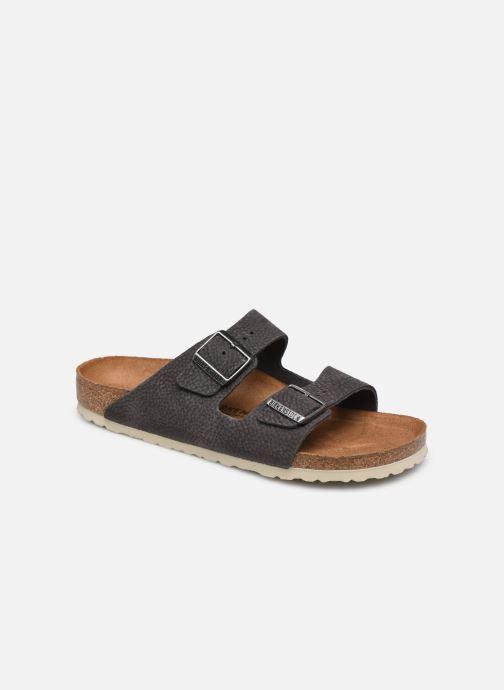 Sandales et nu-pieds Birkenstock Arizona Cuir M Gris vue détail/paire