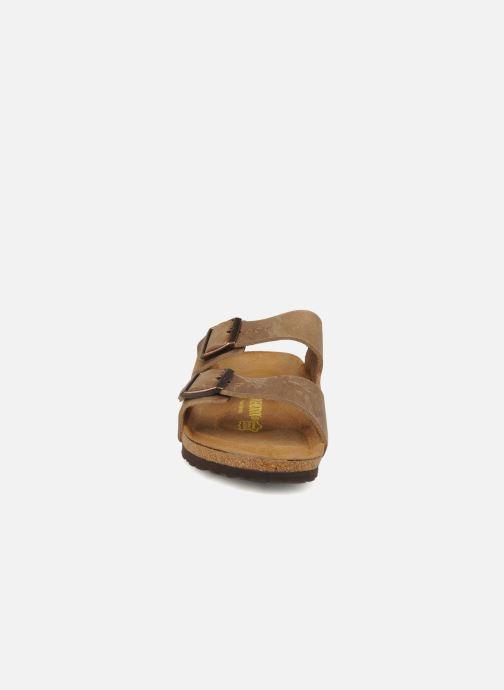 Sandalen Birkenstock Arizona Cuir M Bruin model