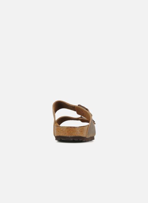 Sandali e scarpe aperte Birkenstock Arizona Cuir M Marrone immagine destra