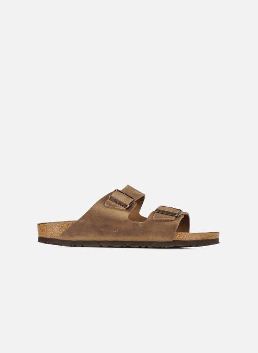 Sandali e scarpe aperte Birkenstock Arizona Cuir M Marrone immagine posteriore