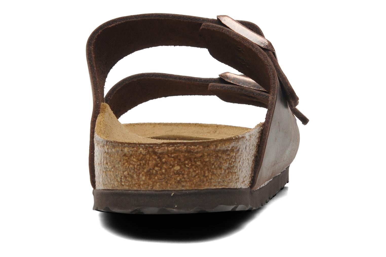 Sandalen Birkenstock Arizona Cuir M braun ansicht von rechts