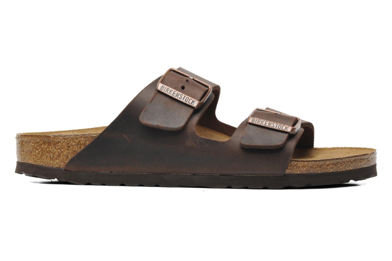 Sandalen Birkenstock Arizona Cuir M braun ansicht von hinten