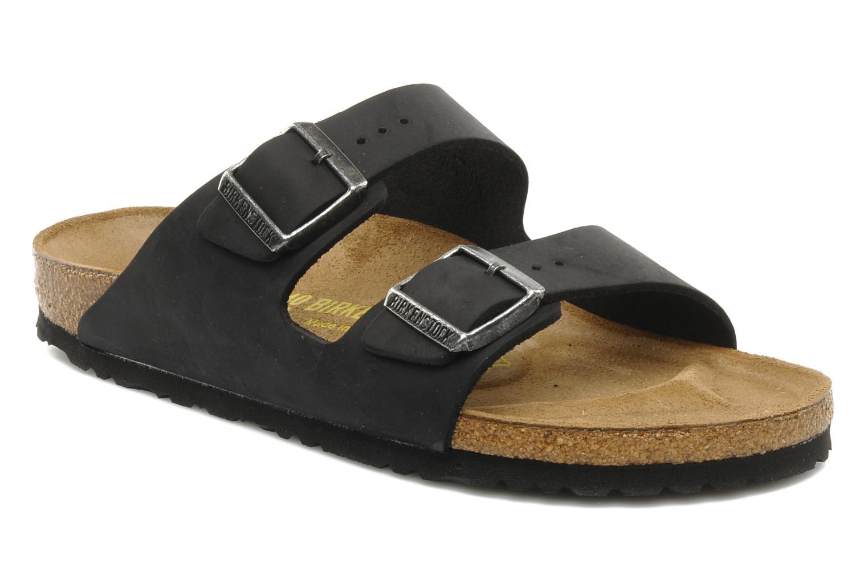 Sandali e scarpe aperte Birkenstock Arizona Cuir M Nero vedi dettaglio paio 6a709d87e4d