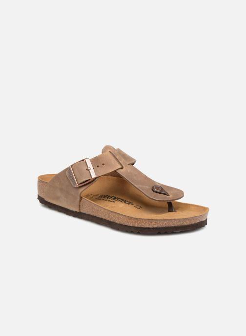 Flip flops & klipklapper Birkenstock Medina Cuir M Brun detaljeret billede af skoene