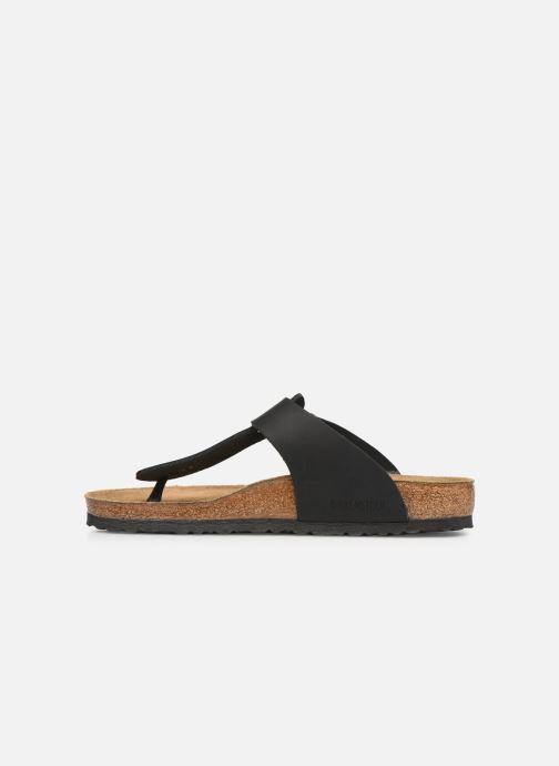 Flip flops Birkenstock Medina Cuir M Black front view