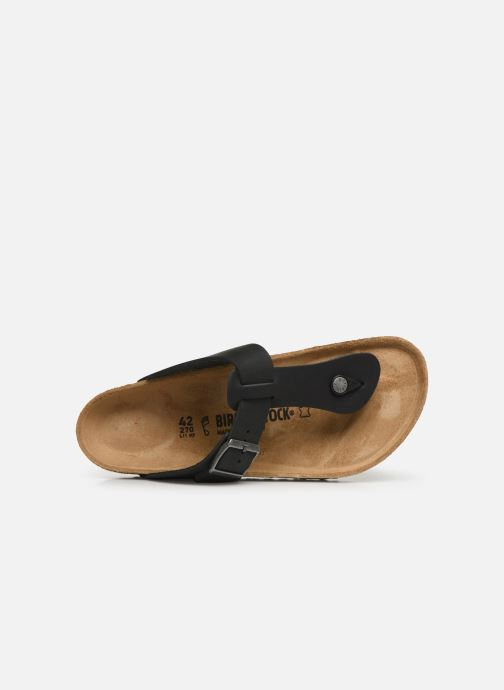 Slippers Birkenstock Medina Cuir M Zwart links