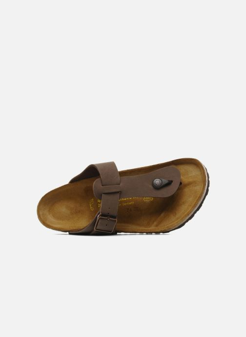 Flip flops Birkenstock Medina Flor M Brown view from the left