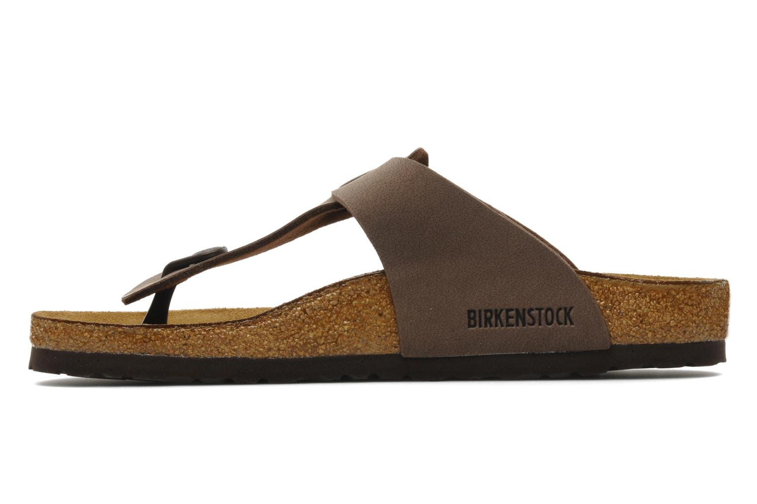 Tongs Birkenstock Medina Flor M Marron vue face