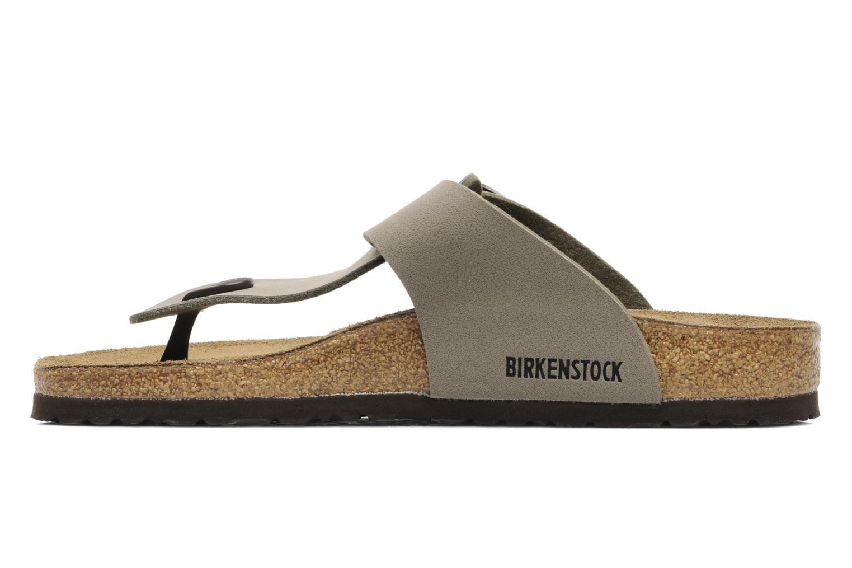 Flip flops Birkenstock Medina Flor M Grey front view