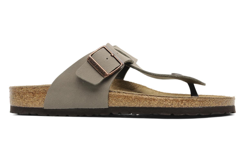 Flip flops Birkenstock Medina Flor M Grey back view
