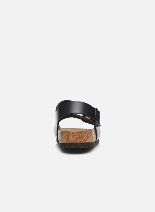 Sandales et nu-pieds Birkenstock Milano Cuir M Noir vue droite