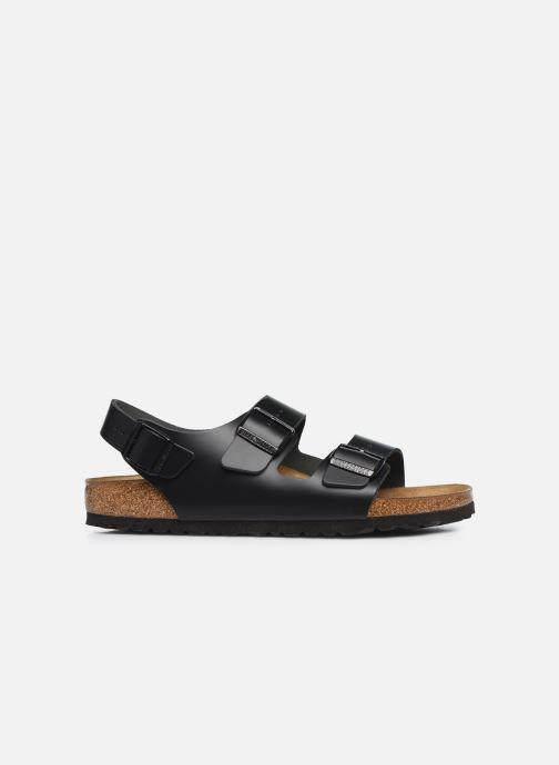 Sandales et nu-pieds Birkenstock Milano Cuir M Noir vue derrière