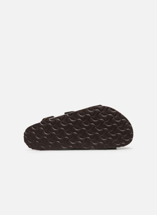 Sandales et nu-pieds Birkenstock Milano Cuir M Marron vue haut