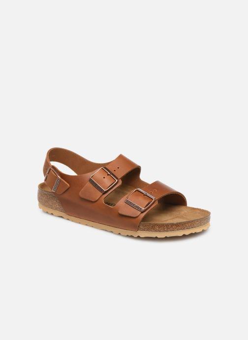 Sandali e scarpe aperte Birkenstock Milano Cuir M Marrone vedi dettaglio/paio