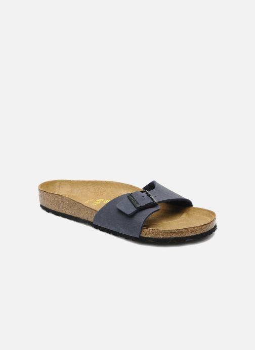 Sandaler Birkenstock Madrid Flor M Blå detaljeret billede af skoene