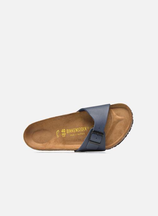 Sandales et nu-pieds Birkenstock Madrid Flor M Bleu vue gauche
