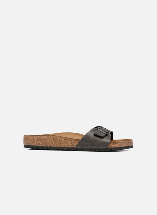 Sandals Birkenstock Madrid Flor M Grey back view