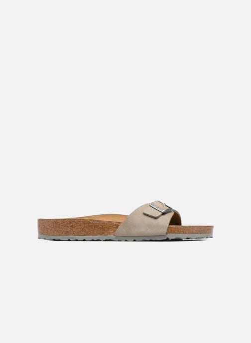 Sandales et nu-pieds Birkenstock Madrid Flor M Marron vue derrière