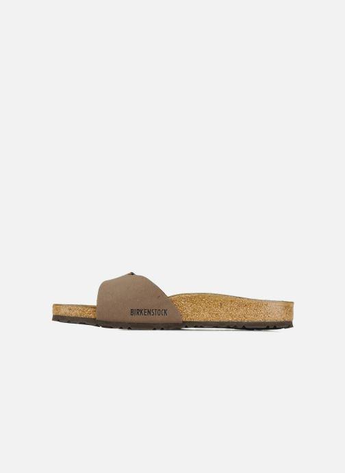Sandales et nu-pieds Birkenstock Madrid Flor M Beige vue face