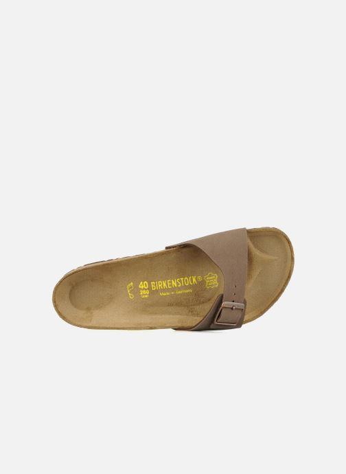 Sandales et nu-pieds Birkenstock Madrid Flor M Beige vue gauche