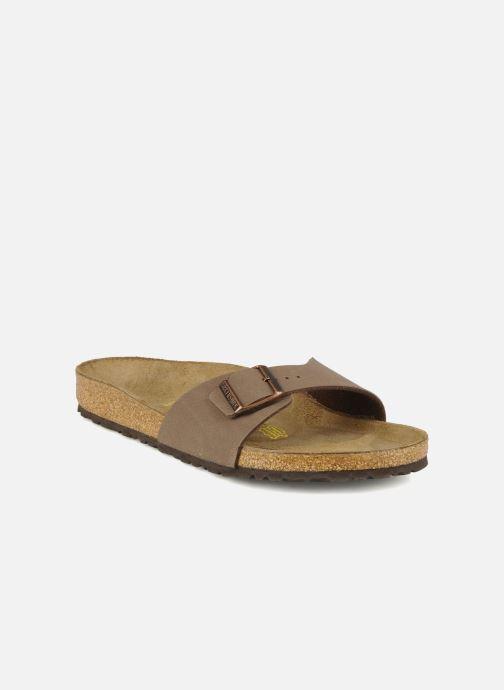 Sandales et nu-pieds Birkenstock Madrid Flor M Beige vue détail/paire