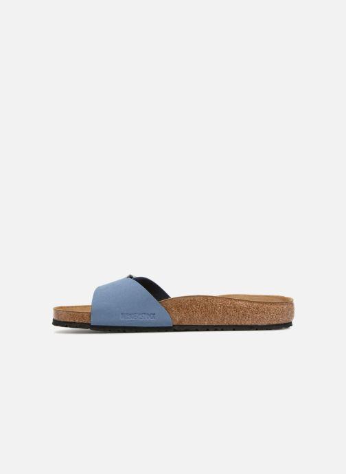 Sandales et nu-pieds Birkenstock Madrid Flor M Bleu vue face
