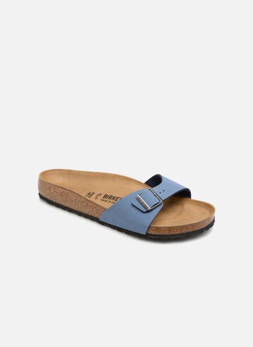 Sandales et nu-pieds Birkenstock Madrid Flor M Bleu vue détail/paire
