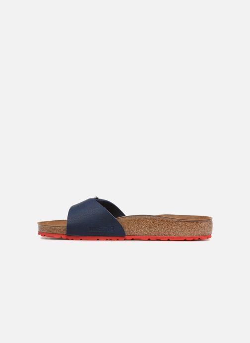 Sandali e scarpe aperte Birkenstock Madrid Flor M Azzurro immagine frontale