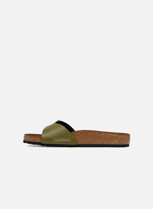Sandals Birkenstock Madrid Flor M Green front view