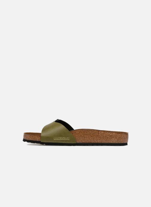 Sandales et nu-pieds Birkenstock Madrid Flor M Vert vue face