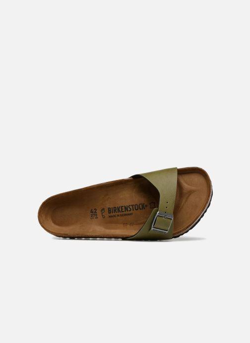 Sandales et nu-pieds Birkenstock Madrid Flor M Vert vue gauche