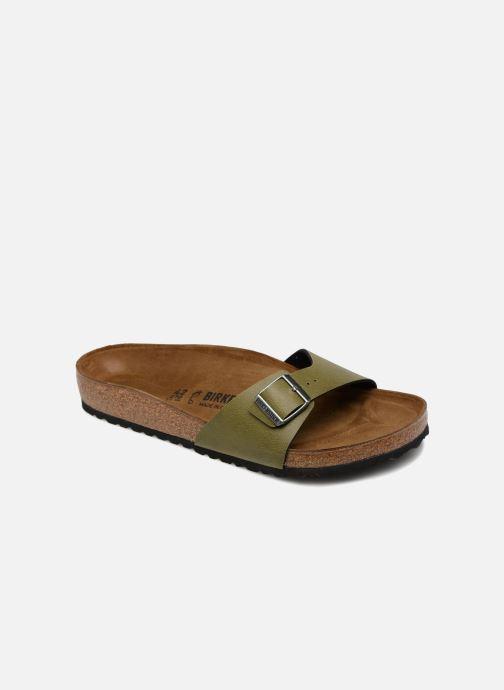Sandales et nu-pieds Birkenstock Madrid Flor M Vert vue détail/paire