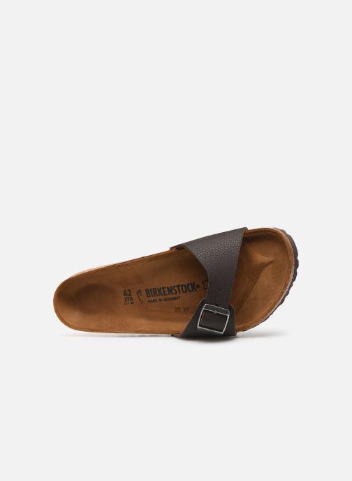 Sandales et nu-pieds Birkenstock Madrid Flor M Marron vue gauche