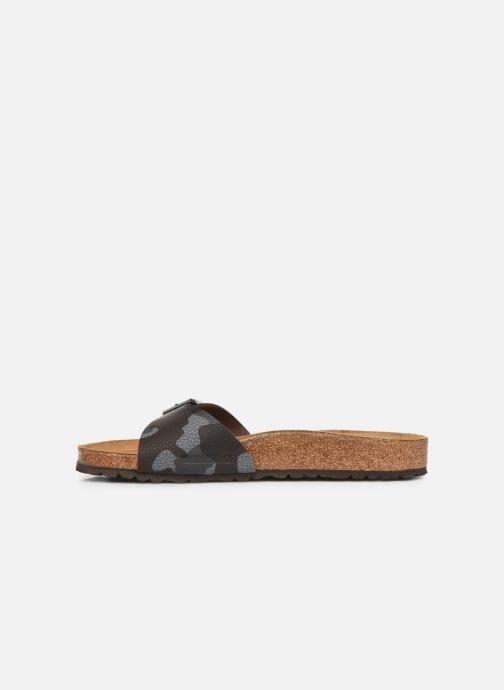 Sandals Birkenstock Madrid Flor M Brown front view