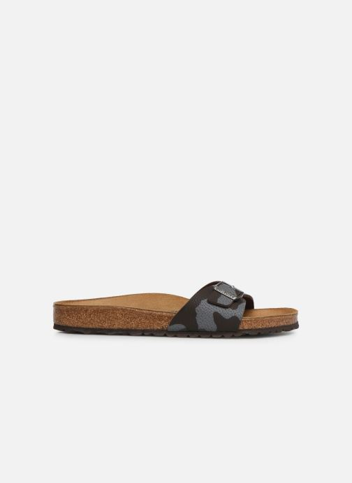 Sandals Birkenstock Madrid Flor M Brown back view