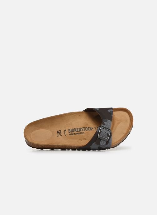 Sandals Birkenstock Madrid Flor M Brown view from the left