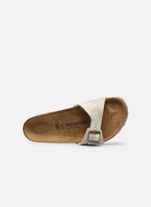 Sandali e scarpe aperte Birkenstock Madrid Flor M Bianco immagine sinistra