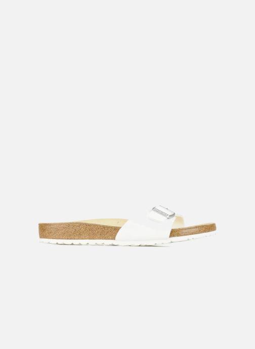 Sandales et nu-pieds Birkenstock Madrid Flor M Blanc vue derrière