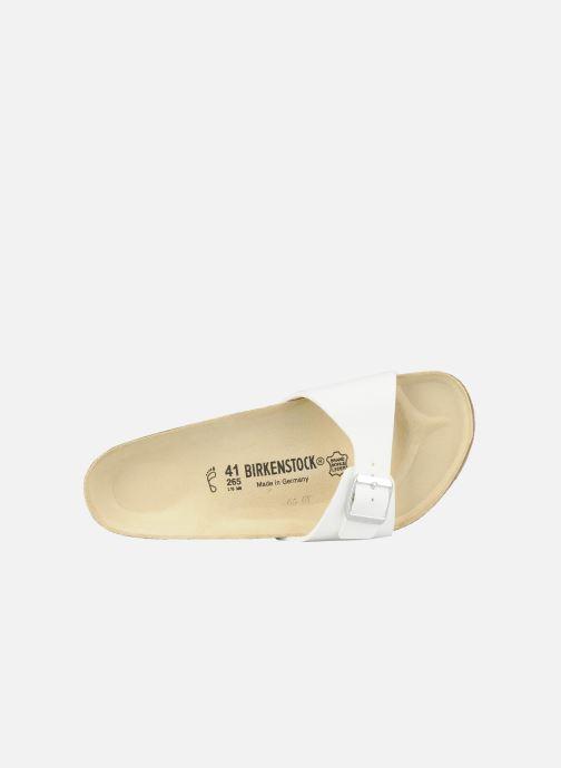 Sandales et nu-pieds Birkenstock Madrid Flor M Blanc vue gauche