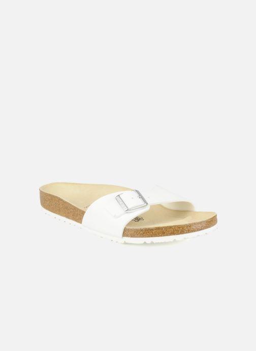 Sandales et nu-pieds Birkenstock Madrid Flor M Blanc vue détail/paire