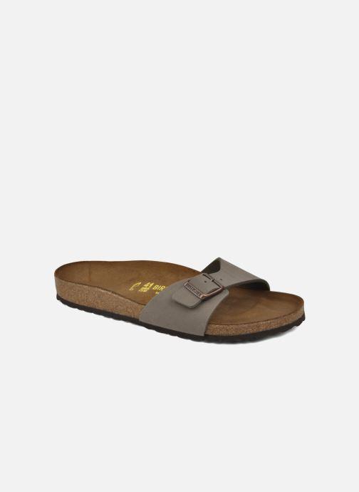 Sandales et nu-pieds Birkenstock Madrid Flor M Gris vue détail/paire