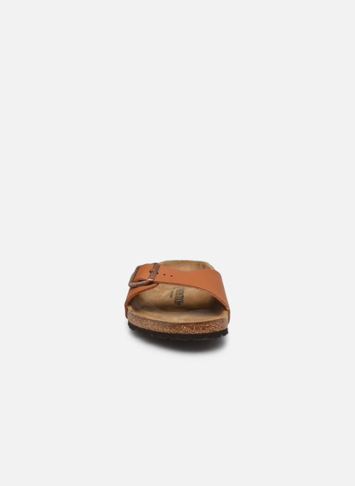Sandalen Birkenstock Madrid Flor M braun schuhe getragen